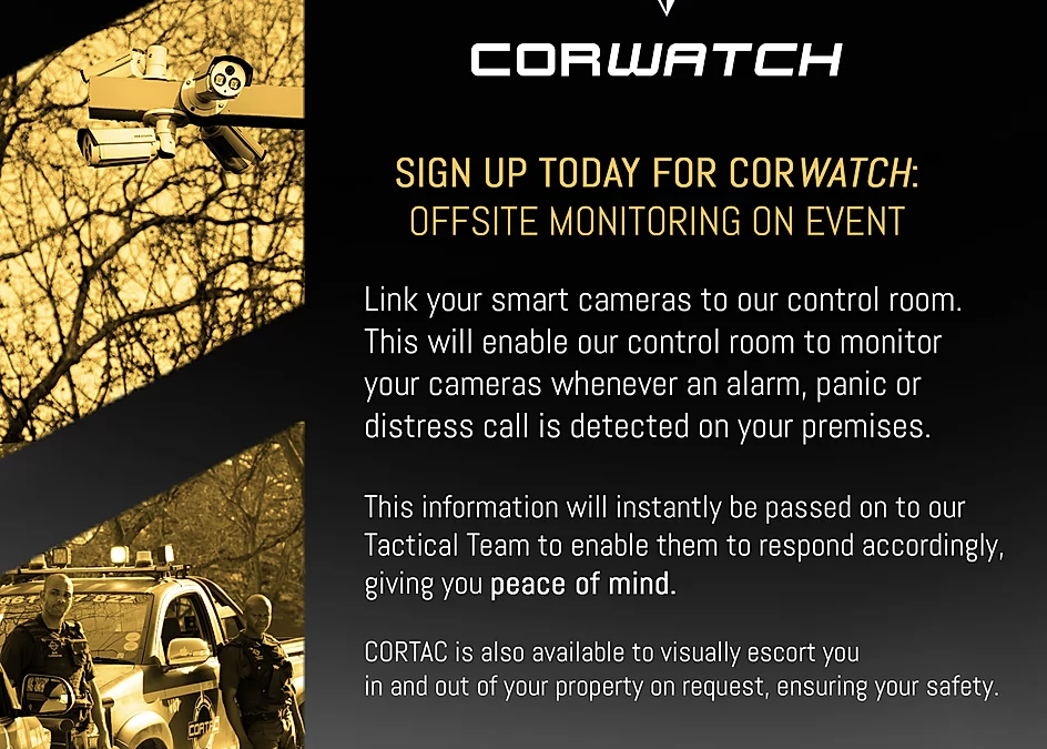 Introducing CORWATCH offsite monitoring